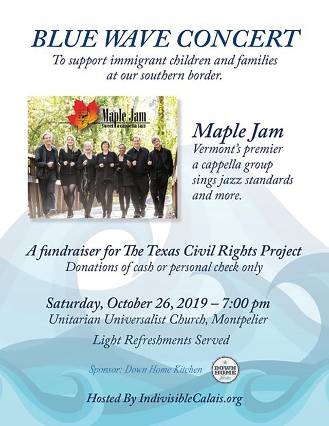 Maple Jam Blue Wave Concert